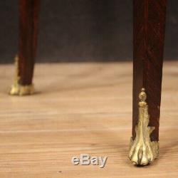 Trumeau bureau secrétaire furniture antique desk inlaid painted wood 800