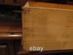Victorian Cylinder Roll Kneehole Desk