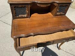 Vintage Hammary Writing / Secretary Desk with Hutch Top