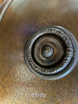 Vintage Hardwood Leather Top Kidney Shaped Secretary/Writing Desk