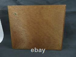 Vintage Wood Top Writing Lap Desk Secretary Storage Viking American Eagle