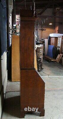 Wright Table Co. New England Style Cherry Blind Door Secretary Desk & Bookcase