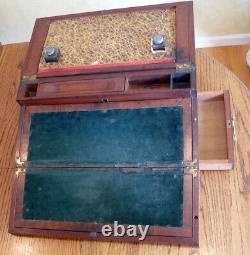 Writing Slope, VINTAGE Traveling Desk, Portable Secretary
